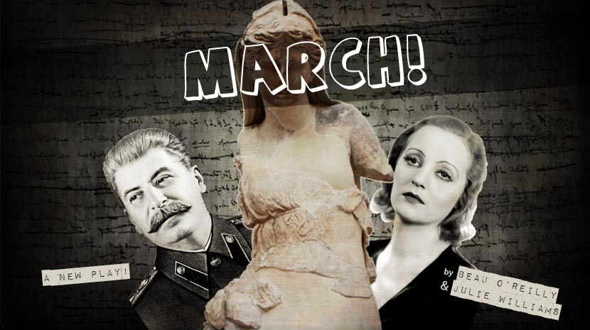 March! by Beau O Reilly and Julie Williams